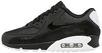 Женские кроссовки Nike Air Max 90 Premium (найк аир макс 90) черные