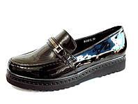 Модные туфли лакированные женские р. 36-40