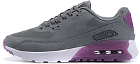 Женские кроссовки Nike Air Max 90 HyperLite (найк аир макс 90) серые