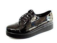 Модные туфли-ботинки  женские р. 36-40