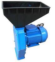 Домашняя зернодробилка Эликор 1 исполнение 2, 1,7 кВт, 180 кг/час, регулировка степени помола