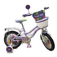 Детский велосипед, 14 дюймов с дополнительными колесами (PV1462)