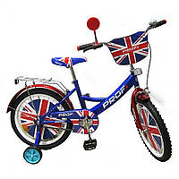 Детский велосипед, 14 дюймов с дополнительными колесами (PL1434)