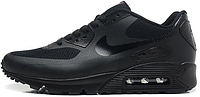 Женские кроссовки Nike Air Max 90 USA Hyperfuse (найк аир макс 90) черные