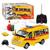 Машинка Газель детская на радиоуправлении аккумуляторная Аварийная служба Joy Toy 9129-6
