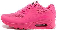 Женские кроссовки Nike Air Max 90 USA Hyperfuse (найк аир макс 90) розовые