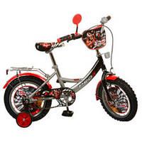 Детский велосипед, 14 дюймов с дополнительными колесами (PF1446)