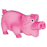 """Trixie TX-35190 Игрушка для собак """"Свинка со щетиной"""", 10см, фото 1"""
