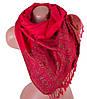 Шикарный женский двусторонний палантин из пашмины 176 на 70 см ETERNO (ЭТЕРНО) ES0206-23-4 красный