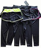 Компрессионные штаны-шорты женские Under Armour № 1260061