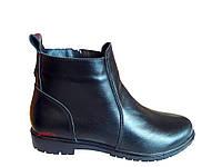 Женские ботинки на танкетке классика