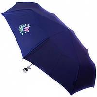 Зонт AIRTON 3512-1104 темно-синий, механика, 3 сложения