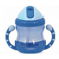 Детская поилка-непроливайка Baby Mix GLT-C005, голубой