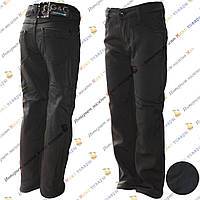 Тёплые школьные брюки для мальчика от 6 до 10 лет (6005)