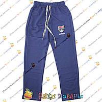 Турецкие синие спортивные штаны для подростков от 10 до 16 лет (4075-3)