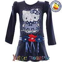 Платье с длинным рукавом Hello Kitty для девочек от 3 до 8 лет (4449-2)