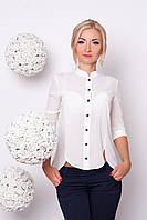 Эфектная блуза из легкой ткани