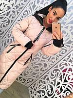 Женская зимняя куртка на синтепоне  (2 цвета)