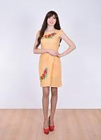 Оригинальная модель вышитого платья
