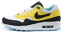Женские кроссовки Nike Air Max 87 (найк аир макс 87) желтые