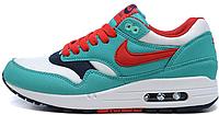Женские кроссовки Nike Air Max 87 (найк аир макс 87) бирюзовые