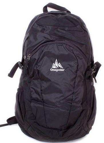 Мужской рюкзак 20 л. ONEPOLAR (ВАНПОЛАР) W1739-black черный