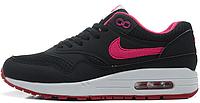 Женские кроссовки Nike Air Max 87 (найк аир макс 87) черные