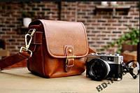 Винтажная ретро сумка для фотокамеры фотосумка