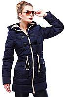 Зимняя курточка на синпухе с капюшоном, фото 1