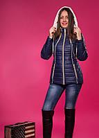 Женская куртка демисезонная большой размер