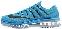 Женские кроссовки Nike Air Max 2016 (найк аир макс 2016) голубые