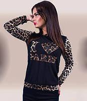 Кофточка женская Paris леопард