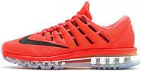Женские кроссовки Nike Air Max 2016 (найк аир макс 2016) красные