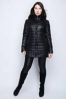 Женская теплая  осенняя  куртка на молнии