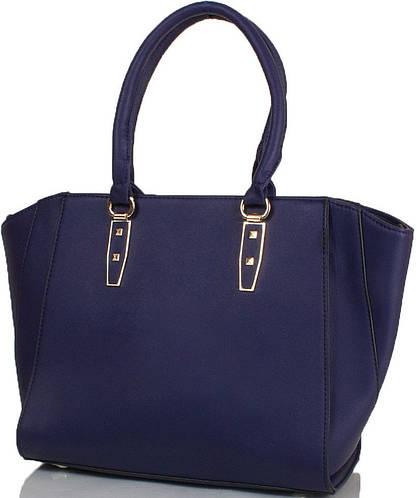 Синяя женская сумка  ANNA&LI (АННА И ЛИ) TU14465-navy (синий)