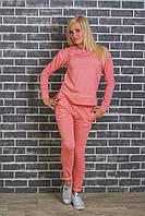 Спортивный женский костюм персик, фото 1