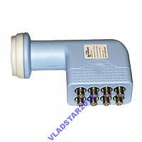 Конвертер спутниковый (головка на 4 выхода) Sat Integral OCTO T-808- есть ОПТ