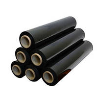 Стрейтч пленка черная  20 мкм 500 мм 1,8 кг