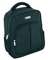 """Деловой рюкзак для учебы с карманом для лэптопа 14"""" Optima O97289 черный"""