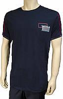 Мужская футболка Saviola. Темно-синяя. Турция