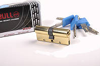 """Ключевой цилиндр тм BULL с противовзломными пластинами с дополнительной степенью защищенности """"дорожка на ключ"""