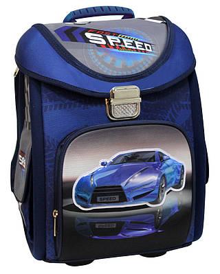 """Мальчуковый школьный рюкзак-трансформер 14"""" """"Blue Car"""" COOL4SCHOOL (CF85653) голубой"""
