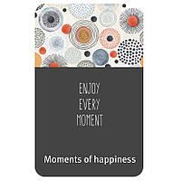 Эргорюкзак Love & Carry AIR  Моменты счастья серый с рисунком