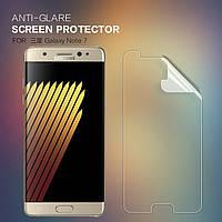 Защитная пленка Nillkin для Samsung Galaxy Note 7 матовая