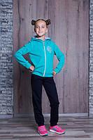 Костюм спортивный детский на девочку, фото 1