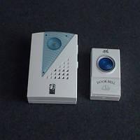 Звонок дверной, беспроводной Horoz Electric 38 мелодий 120м на батарейках LUX-535130