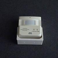 Звонок дверной, беспроводной Horoz Electric 2 мелодии  6м с датчиком движения (сигнализация) LUX-535132