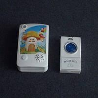 Звонок дверной, беспроводной Horoz Electric 38 мелодий 120м на батарейках LUX-535134