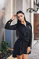 Платье-рубашка женское , фото 1