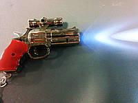 3 в 1 - Брелок + фонарь + лазер, пистолет